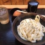 132668329 - ☆釜バターうどん小(うどん一玉)税込490円
