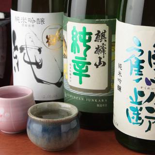 新潟の日本酒が常時30種類以上!!!