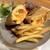 egg baby cafe - 料理写真: エッグベイビーサンド with フレンチフライ(900円)