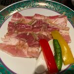 叙々苑 - 豚バラ塩だれ焼(1,760円)