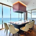 鉄板焼き 七里ガ浜 - 2F個室