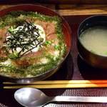 がちまや食堂 - がちまや食堂 @板橋本町 海ぶどう丼 690円