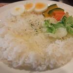 13268348 - ライス・温野菜・ゆで卵