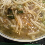 Oukegyouza - サンマー麺。塩味ベース。