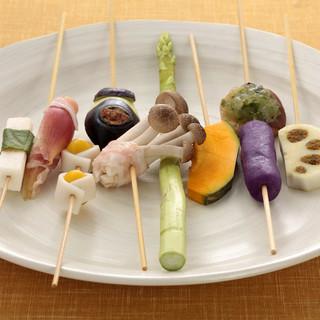 新鮮で質の高い野菜を使用しております。