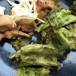 東京アスリート食堂 - A主菜は鶏もも肉の柚子胡椒焼き