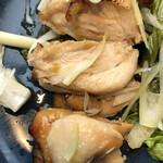 東京アスリート食堂 - 鶏もも肉の柚子胡椒焼き アップ