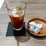 カフェ ちえのわ - ドリンク写真:アイスコーヒー 440円税込