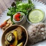 13269236 - ワンプレートランチ(ミートローフと野菜のオーブン焼)