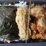 ごはん亭 - 料理写真:のり弁あげからコロ