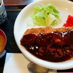 明日香 - 料理写真:牛カツめし