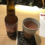 瓦そば すずめ - 地ビールの「角島」