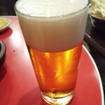 あさひ食堂 - 生ビール
