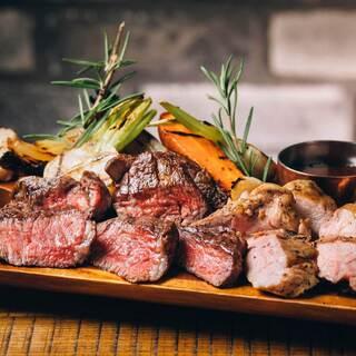 各地から厳選された「肉」料理