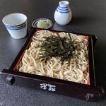 蕎麦・料理 籔半 - [ざるせいろ]「焼き海苔」と同じ、東京湾は富津産の海苔を使用しております。