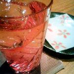 和・ダイニング 北の夢祥 - 桜色の焼酎