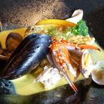 シェフ・デ・ブッチョ - 本日のお魚料理・鯛のカレー風味