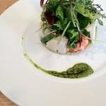 ラ・トルチュ - 鮮魚のサラダ