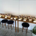 天満屋サンド - いろんなパンが並んでます(O_O)