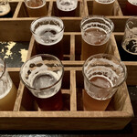 Beer House Hobbit - ドリンク写真:6種飲み比べ(120ml)