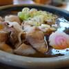 日本そば うらじ - 料理写真:豚肉たっぷり(つけカレー)