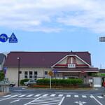日本そば うらじ - 常磐線高萩駅。古き良き駅舎ですね。
