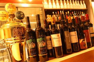 焼肉居酒屋 マルウシミート - ボトルワインも豊富