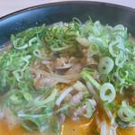 蘭蘭 - 豚肉いっぱい入ってます