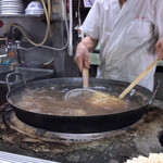 福寿 - 福寿(麺茹で)