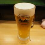 奴寿し - 生ビール