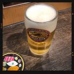 立ち呑 破天荒 - 生ビール 300円