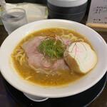 ラゥメン大地 - 料理写真:朝海老味噌ラーメン!