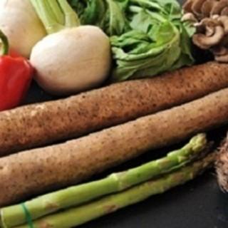 野菜にこだわっております。