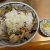 まるよし - 料理写真:冷たい肉蕎麦700円