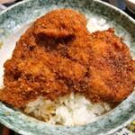 めん房丸仁 - 料理写真:ソースカツ丼