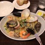 テルツォ - 魚介のパスタ(塩味)