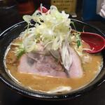 麺処 花田 - 味噌ラーメン野菜増し