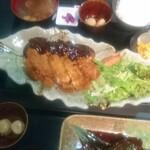 ワン ハピネス - 大きな味噌チキンカツ定食