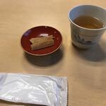 篠山花格子 - お茶と蕎麦揚げ