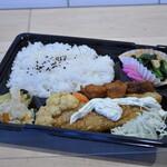 キッチンカフェ ほっぷ - 日替わり弁当B(例)¥540