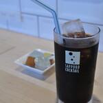 キッチンカフェ ほっぷ - アイスコーヒー ¥330