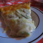 バンビーノ - ピザ ベーコン、タマネギ、ピーマン3