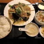 えん弥 - 五目野菜醤油炒め
