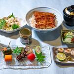 祇をん う桶や う - 鰻と京野菜料理