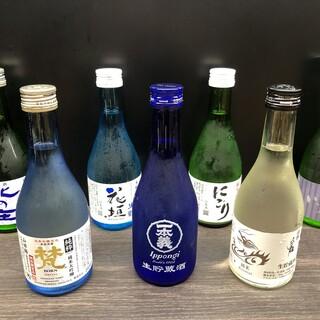 福井の地酒、地サイダーなど、こだわりのドリンクがとっても豊富