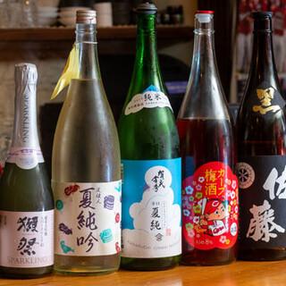 100種類以上★広島県の地酒や広島レモンのサワーなどをご用意