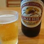 菱田屋 - 基本の瓶ビール