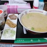 井上食堂 - ラーメンCタイプ+みそ+豊岡製麺