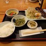 なが沼 赤坂本店 - 塩さば定食850円