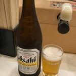 元禄寿司 - 瓶ビール510円